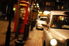 Noche de Londres Foto de archivo