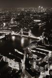 Noche de Londres fotos de archivo