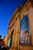 Noche de museos en Bucarest - el museo de Bellu Imagen de archivo