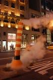 Noche de Nueva York Imagen de archivo libre de regalías