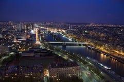 Noche de París Imagen de archivo libre de regalías