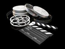 Noche de película Foto de archivo libre de regalías