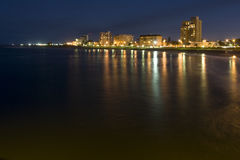 Noche de Port Elizabeth Imagen de archivo libre de regalías