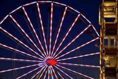 Noche de San Diego County Fair Scene At Imagen de archivo libre de regalías