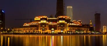 Noche de Tianjin - 1 Fotografía de archivo libre de regalías