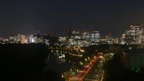 Noche de Tokio Imágenes de archivo libres de regalías