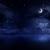 Noche de verano reservada Imagenes de archivo