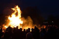 Noche de Walpurgis foto de archivo libre de regalías