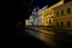 Noche de Yaroslavl Foto de archivo