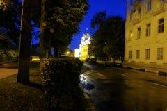 Noche de Yaroslavl Foto de archivo libre de regalías