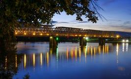 Noche de Yaroslavl Fotografía de archivo