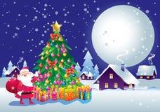 Noche del Año Nuevo Imágenes de archivo libres de regalías