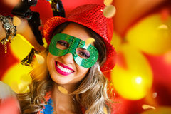 Noche del carnaval Imagenes de archivo