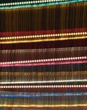 Noche del color del arco iris Fotos de archivo libres de regalías