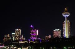 Noche del horizonte de Ontario Canadá Imágenes de archivo libres de regalías