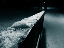 Noche del invierno Fotos de archivo libres de regalías