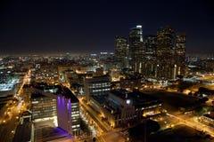 Noche del LA ancha Imagen de archivo libre de regalías
