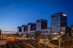 Noche del silencio en Lille imagen de archivo