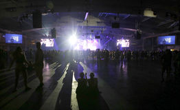 Noche 035 del sonar Fotos de archivo