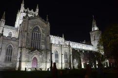 Noche en Abbey Church Foto de archivo
