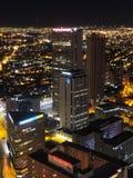 Noche en Bogotá, Colombia Imágenes de archivo libres de regalías
