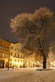 Noche en ciudad Imagen de archivo libre de regalías