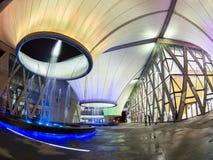 Noche en el centro de los artes de Dadong Imágenes de archivo libres de regalías