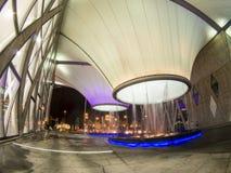 Noche en el centro de los artes de Dadong Imagen de archivo libre de regalías