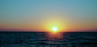 Noche en el Mar Negro imagen de archivo