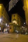 Noche en Florencia Imagen de archivo libre de regalías