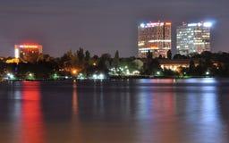 Noche en la ciudad fotos de archivo libres de regalías