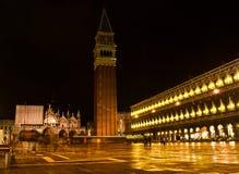 Noche en Venecia imágenes de archivo libres de regalías