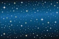 Noche estrellada Fotos de archivo libres de regalías