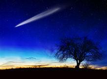 Noche estrellada Imagenes de archivo