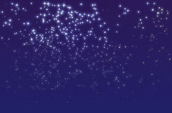 Noche estrellada Imagen de archivo libre de regalías
