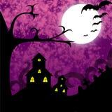 Noche fantasmagórica Foto de archivo libre de regalías
