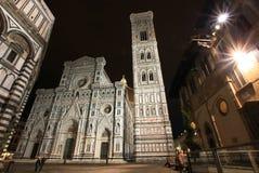 Noche Florencia Foto de archivo