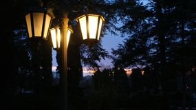 Noche hermosa imágenes de archivo libres de regalías