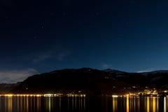 Noche hermosa imagen de archivo libre de regalías
