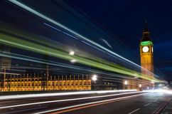 Noche II de Londres Fotos de archivo libres de regalías