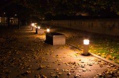 Noche Kraków Foto de archivo libre de regalías