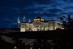 Noche kremlin Imagenes de archivo