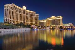 Noche Las Vegas imagen de archivo