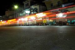 Noche ligera de la pintura Foto de archivo