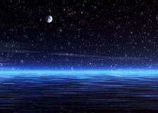 Noche mágica. Foto de archivo