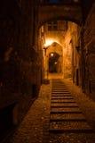 Noche medieval Foto de archivo libre de regalías