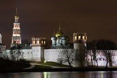 Noche Moscú. Fotos de archivo