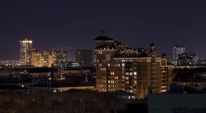 Noche Moscú Fotos de archivo