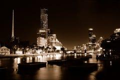 Noche oscura Fotografía de archivo libre de regalías