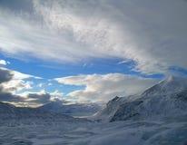Noche polar Foto de archivo libre de regalías
